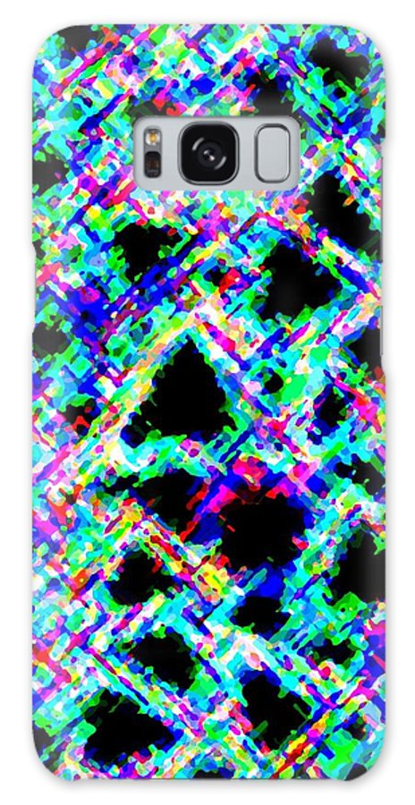 Abstract Galaxy S8 Case featuring the digital art Harmony 18 by Will Borden