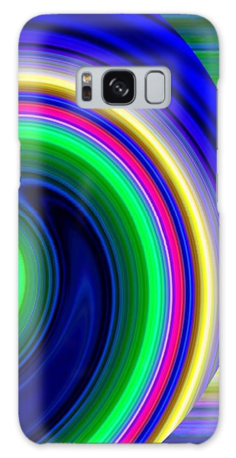 Abstract Galaxy S8 Case featuring the digital art Harmony 19 by Will Borden