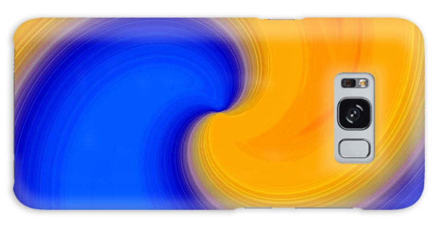 Abstract Galaxy S8 Case featuring the digital art Harmony 23 by Will Borden