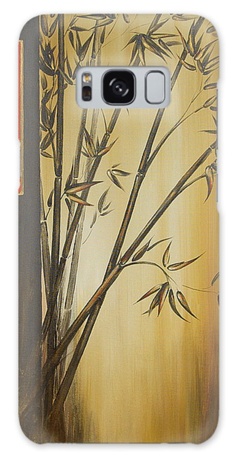 Asian Galaxy S8 Case featuring the painting Harmony Happiness And Love by Dina Dargo