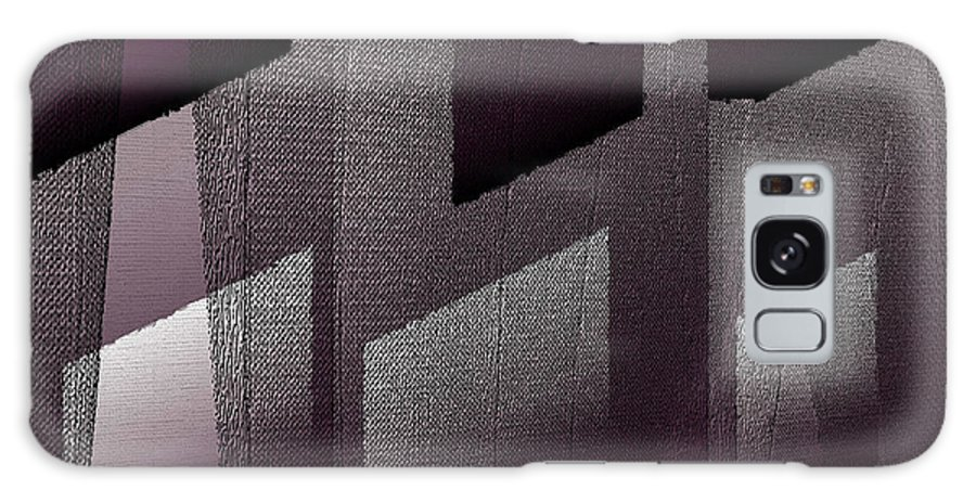 Digital Galaxy S8 Case featuring the digital art Haus Aus Beton by Ilona Burchard