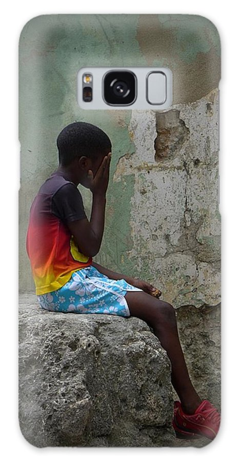 Havana Cuba Galaxy S8 Case featuring the photograph Havana Boy by Cheryl Kurman