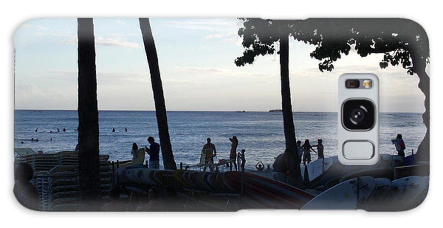 Hawaii Galaxy Case featuring the photograph Hawaiian Afternoon by Daniel Sauceda