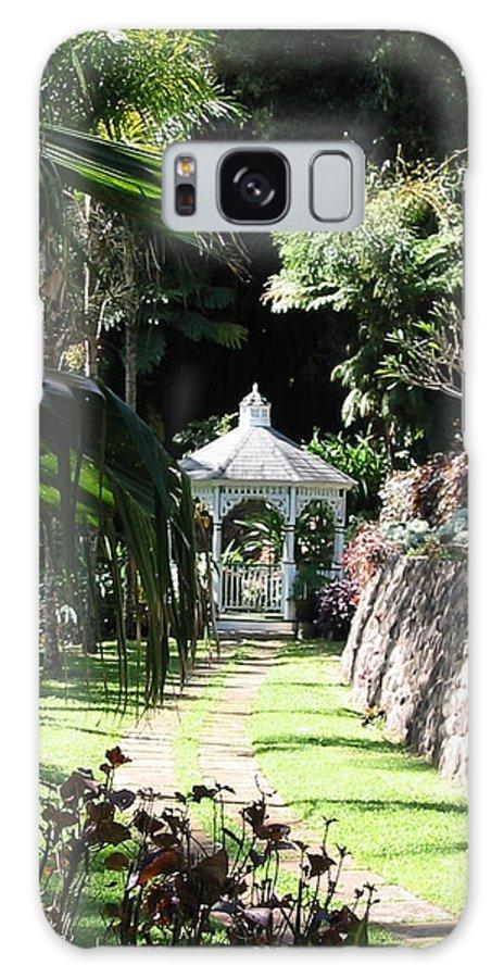 Garden Galaxy S8 Case featuring the photograph Hawaiian Hideaway by Diane Merkle