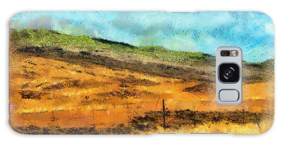 Photograph Galaxy S8 Case featuring the photograph Hawaiian Pasture by Paulette B Wright