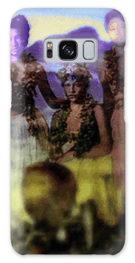 Tropical Interior Design Galaxy Case featuring the photograph He Hohona Aeoia by Kenneth Grzesik
