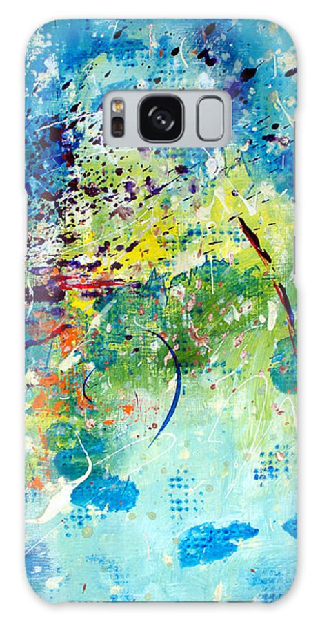ruth Palmer Galaxy Case featuring the painting He Watches Over Me II by Ruth Palmer