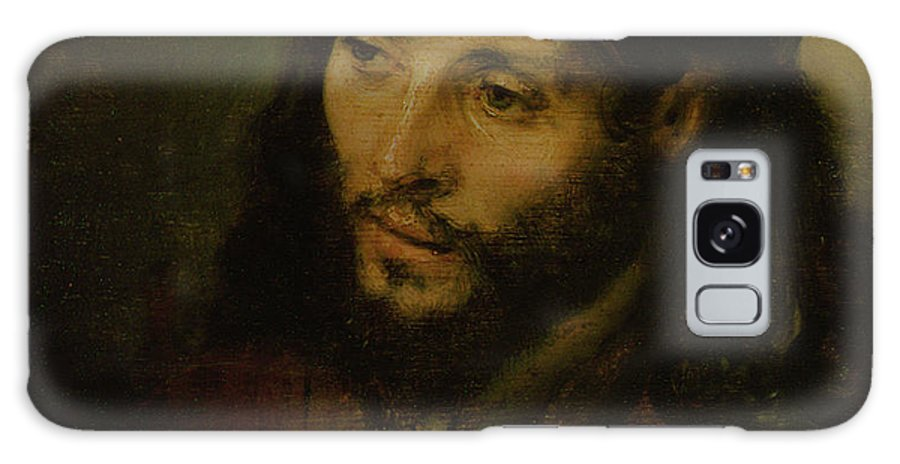 Galaxy S8 Case featuring the painting Head Of Christ by Rembrandt