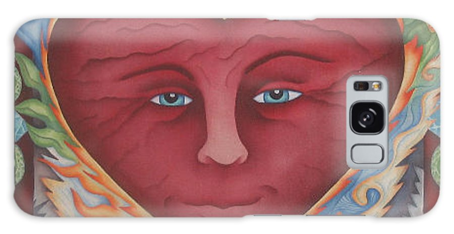 Heart Galaxy S8 Case featuring the painting Headheartandspirit.jpg by Jeniffer Stapher-Thomas