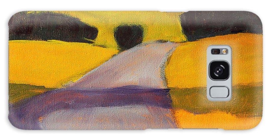 Northwest Landscape Painting Galaxy S8 Case featuring the painting Heading West by Nancy Merkle