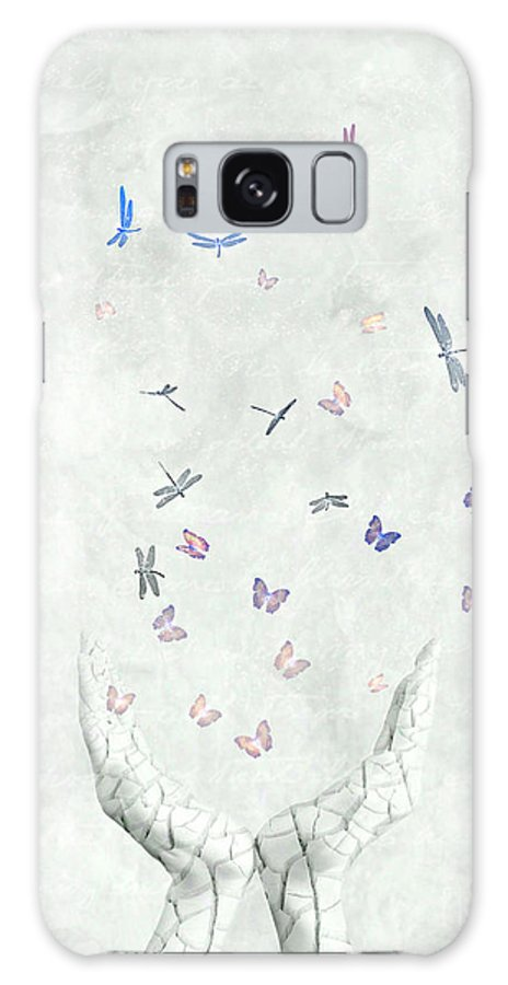 Surreal Galaxy S8 Case featuring the digital art Heal by Jacky Gerritsen