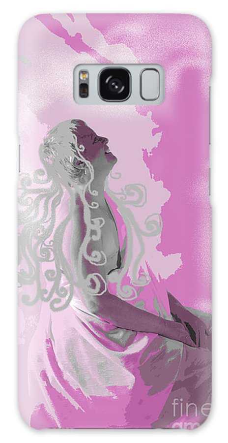 Healing Galaxy Case featuring the digital art Healing Journey by Jacqueline Milner