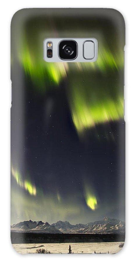Alaska Galaxy S8 Case featuring the photograph Heart Of Denali by Ed Boudreau