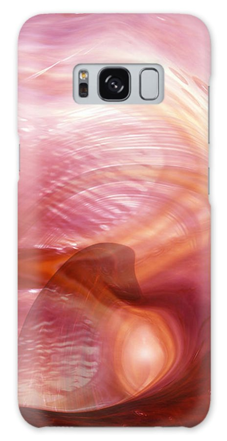 Abstract Art Galaxy S8 Case featuring the digital art Heart Of Dreams by Linda Sannuti
