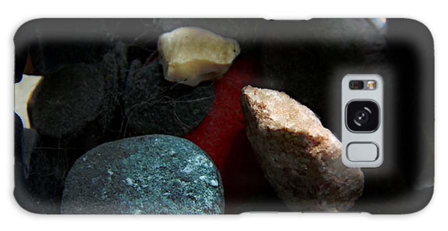 Rocks Galaxy Case featuring the photograph Heart Of Stone by RC DeWinter