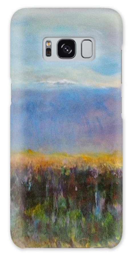 Impressionist Galaxy S8 Case featuring the painting Heartland At Dusk by Patty Mowatt