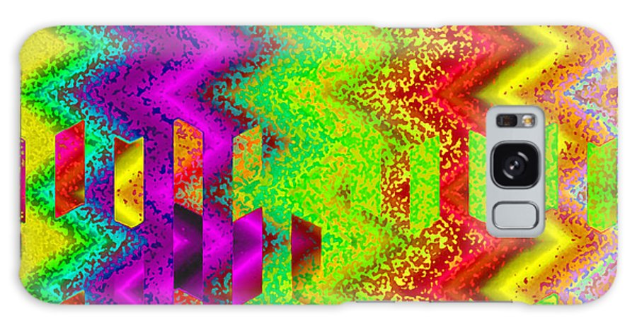 Abstract Galaxy Case featuring the digital art Heaven by Ruth Palmer