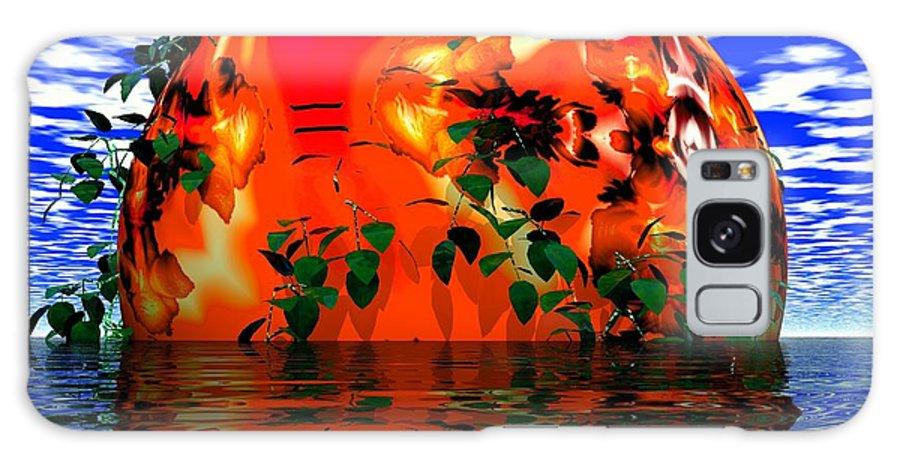Sphere Galaxy S8 Case featuring the digital art Heavens Scent by Robert Orinski