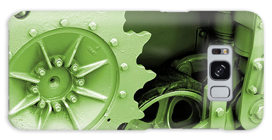 Wwii Galaxy S8 Case featuring the photograph Heavy Metal In Green by Valerie Fuqua