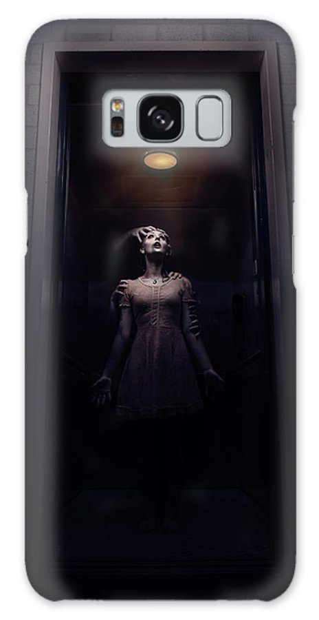 Galaxy S8 Case featuring the digital art Hellivator by Clinton Lofthouse