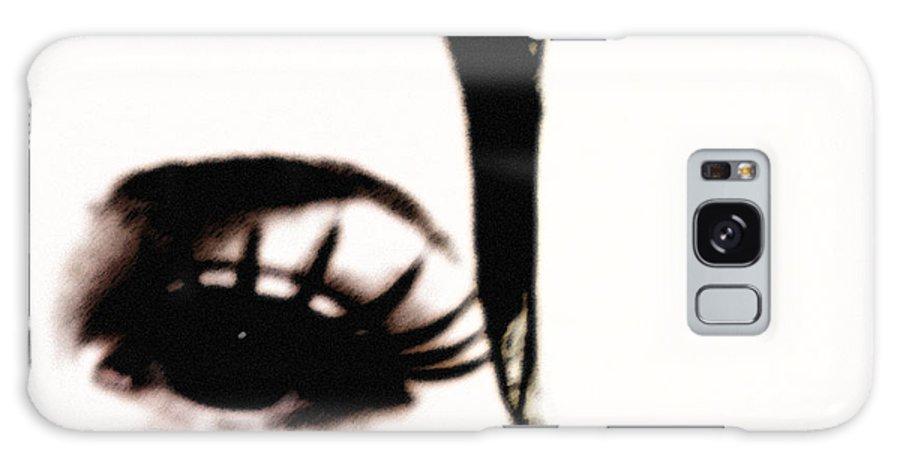 Eye Galaxy Case featuring the photograph Hello by Amanda Barcon