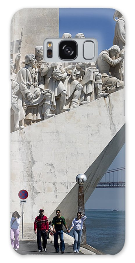 Statue Galaxy S8 Case featuring the photograph Henry The Navigator by Carl Purcell