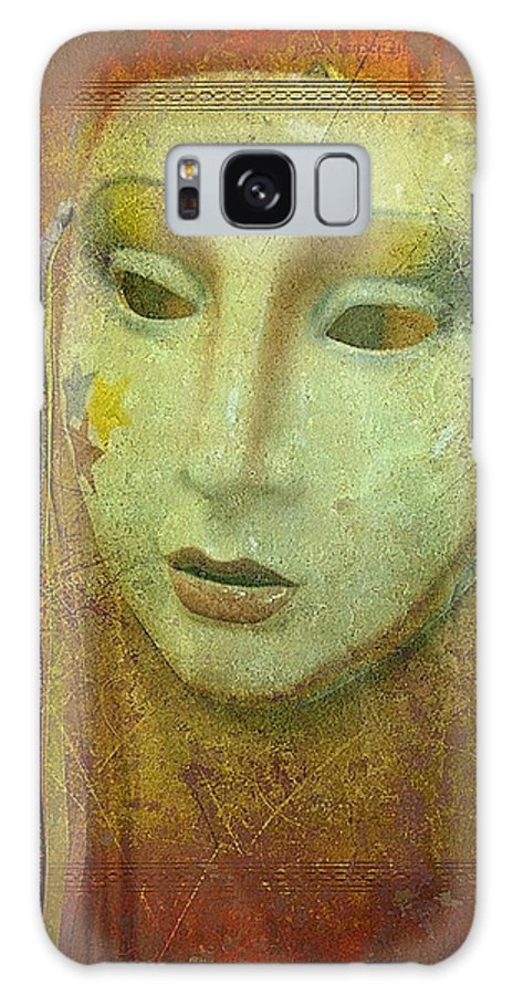 Masks Galaxy S8 Case featuring the photograph Her Party Face by Jan Amiss Photography