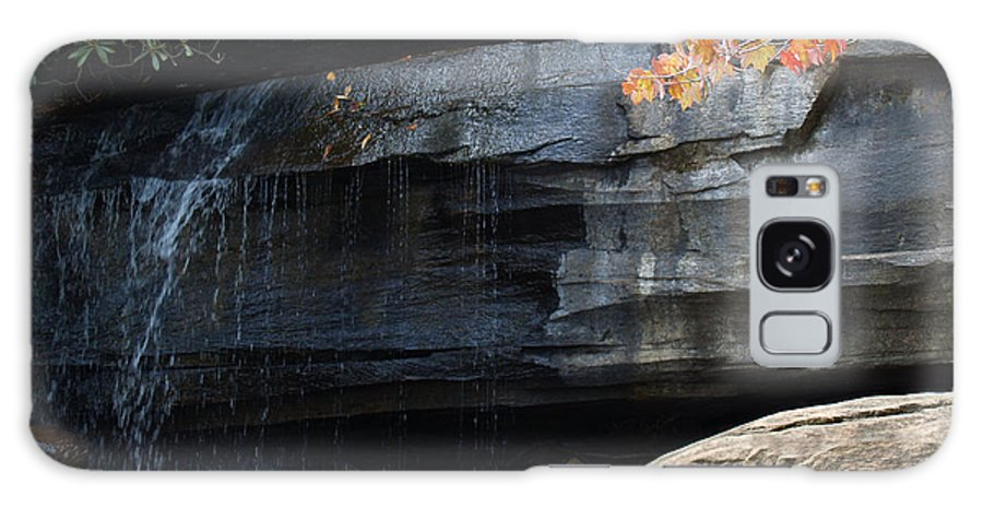 Chimney Rock Galaxy Case featuring the photograph Hickory Nut Falls At Chimney Rock Nc by Anna Lisa Yoder