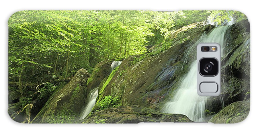 National Galaxy S8 Case featuring the photograph Hidden Falls - Shenandoah National Park. by Constantine Vloutely