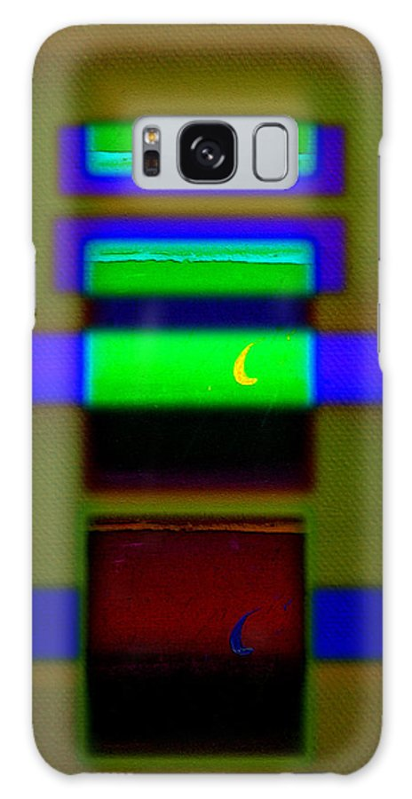 Rothko Galaxy S8 Case featuring the painting Hieroglyphic by Charles Stuart