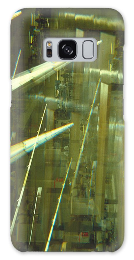 Industrial Galaxy S8 Case featuring the photograph High Tech Blur by Jerry McElroy