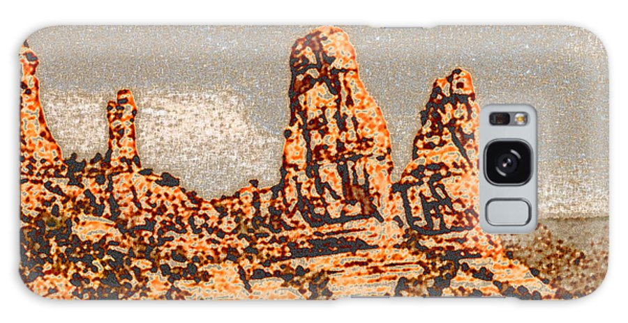 Altered Photography Galaxy S8 Case featuring the photograph Hills In Sedona by Wayne Potrafka