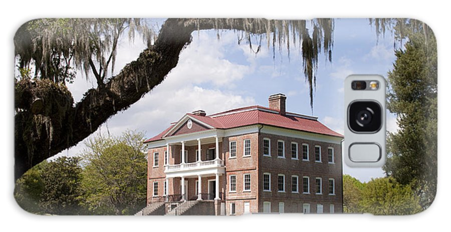 Historic Galaxy S8 Case featuring the photograph Historic Drayton Hall In Charleston South Carolina by Dustin K Ryan
