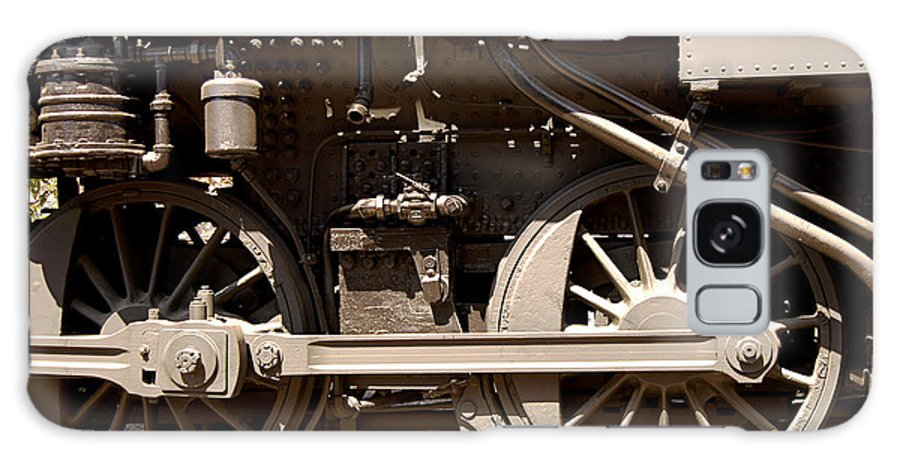Clay Galaxy S8 Case featuring the photograph Historic Trains by Clayton Bruster