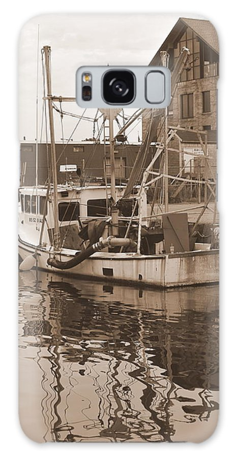 New Bedford Galaxy S8 Case featuring the photograph Historical Waterfront by Catherine Reusch Daley