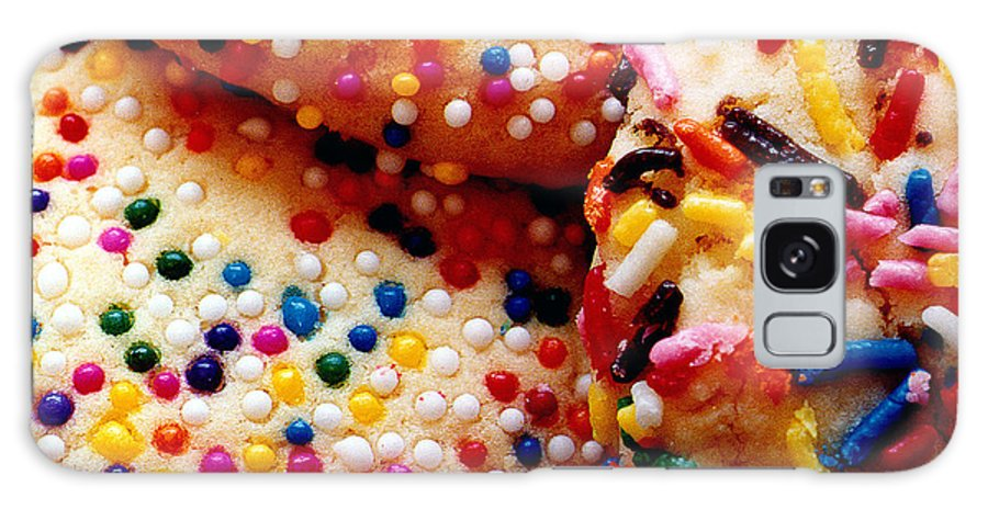 Cookie Galaxy Case featuring the photograph Holiday Cookies by Nancy Mueller