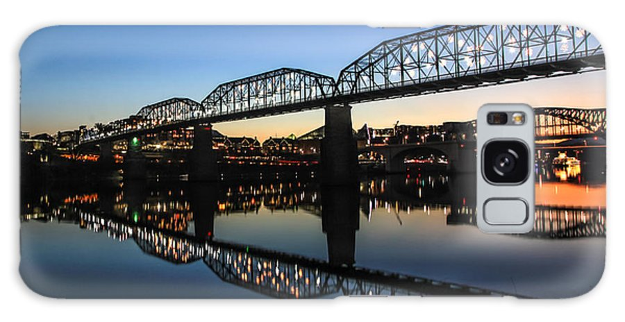 Chattanooga Galaxy S8 Case featuring the photograph Holiday Lights Chattanooga #3 by Tom and Pat Cory