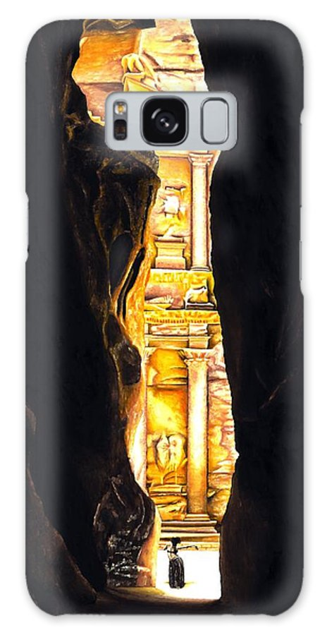 Bellydancer Galaxy S8 Case featuring the painting Homage to Petra by Richard Young