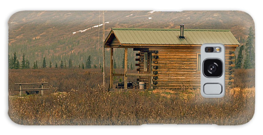 Log Cabin Galaxy S8 Case featuring the photograph Home Sweet Fishing Home In Alaska by Denise McAllister