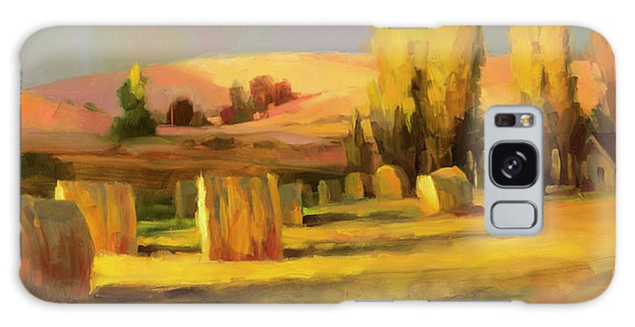 Country Galaxy Case featuring the painting Homeland 3 by Steve Henderson
