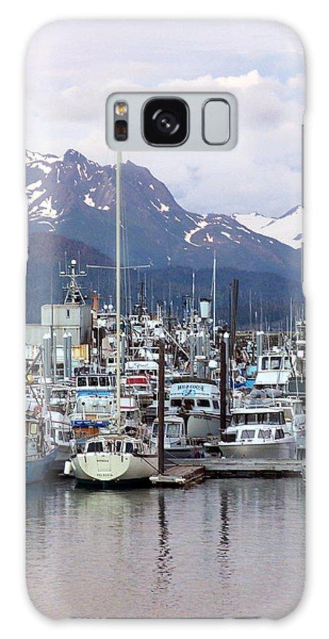 Homer Alaska Galaxy S8 Case featuring the photograph Homer Harbor by Marty Koch