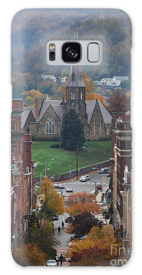 Cumberland Galaxy S8 Case featuring the photograph My Hometown Cumberland, Maryland by Eric Liller