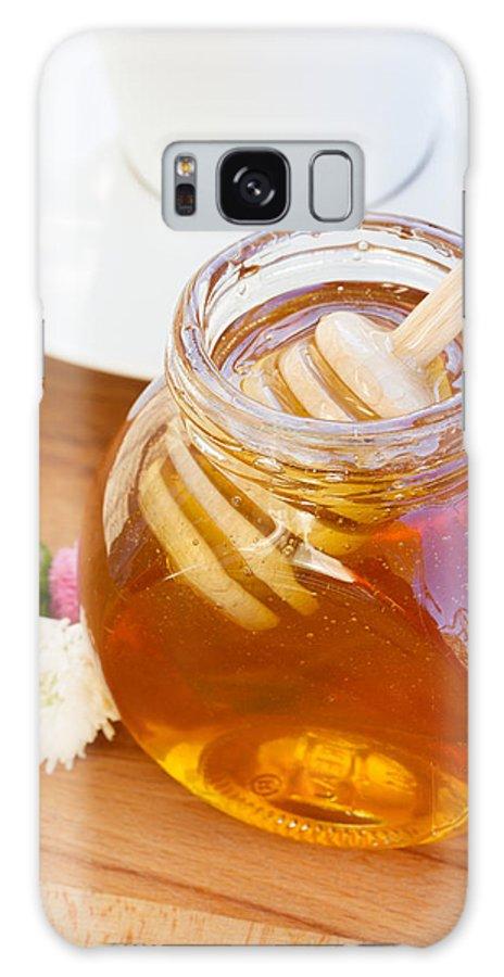 Breakfast Galaxy S8 Case featuring the photograph Honey Jar by Anastasy Yarmolovich