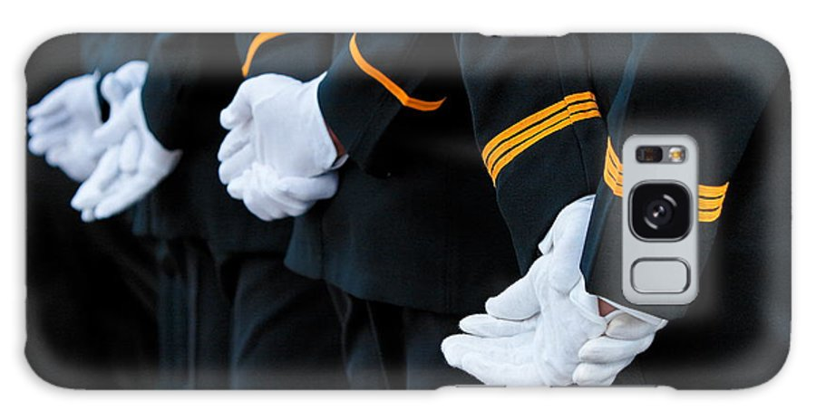 Military Galaxy Case featuring the photograph Honor Guard by Lone Dakota Photography