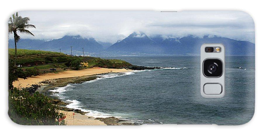 Aloha Galaxy S8 Case featuring the photograph Hookipa Beach Maui North Shore Hawaii by Sharon Mau