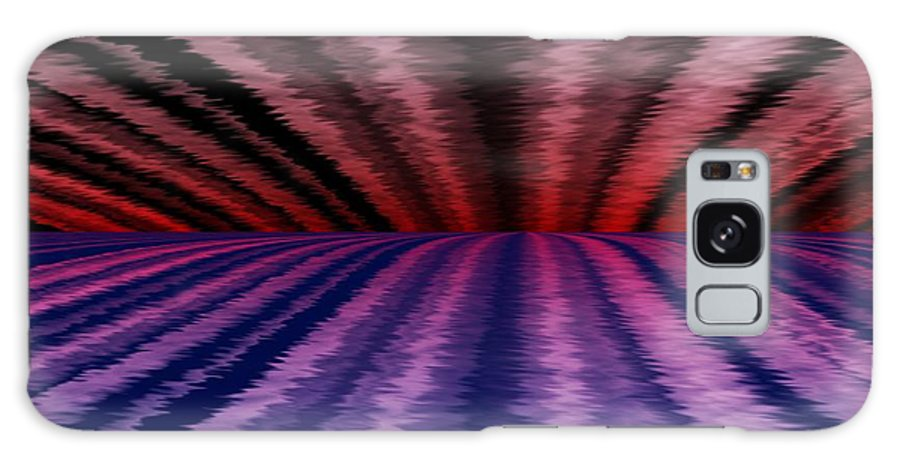 Abstract Galaxy S8 Case featuring the digital art Horizon by David Lane