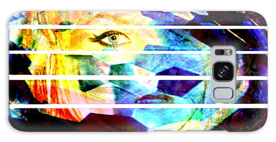 Woman Galaxy S8 Case featuring the digital art Horizontal View by Seth Weaver
