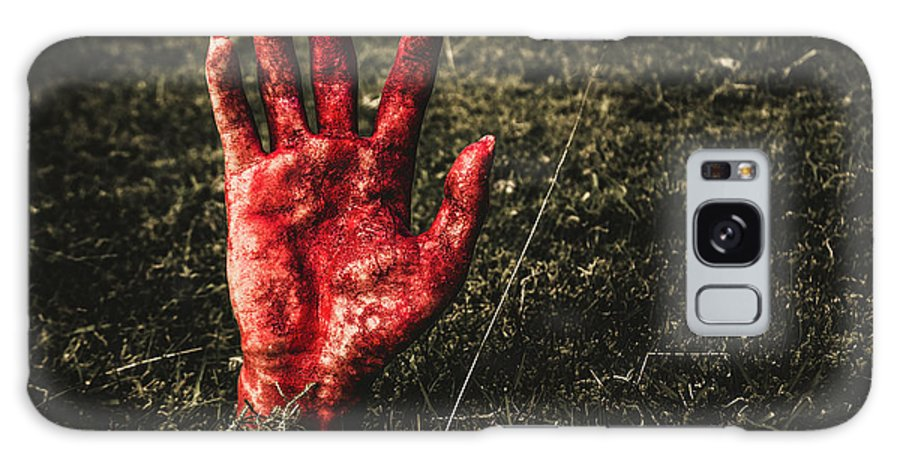 Hand Galaxy S8 Case featuring the photograph Horror Resurrection by Jorgo Photography - Wall Art Gallery
