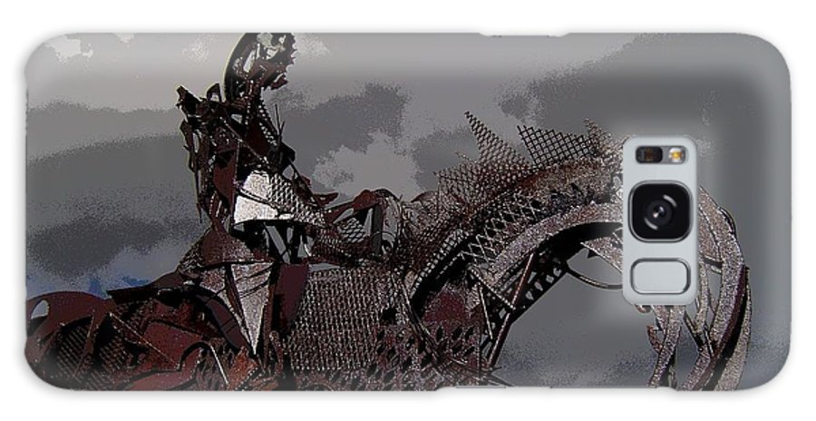 Horse Galaxy S8 Case featuring the photograph Horse And Rider by Bill Kellett