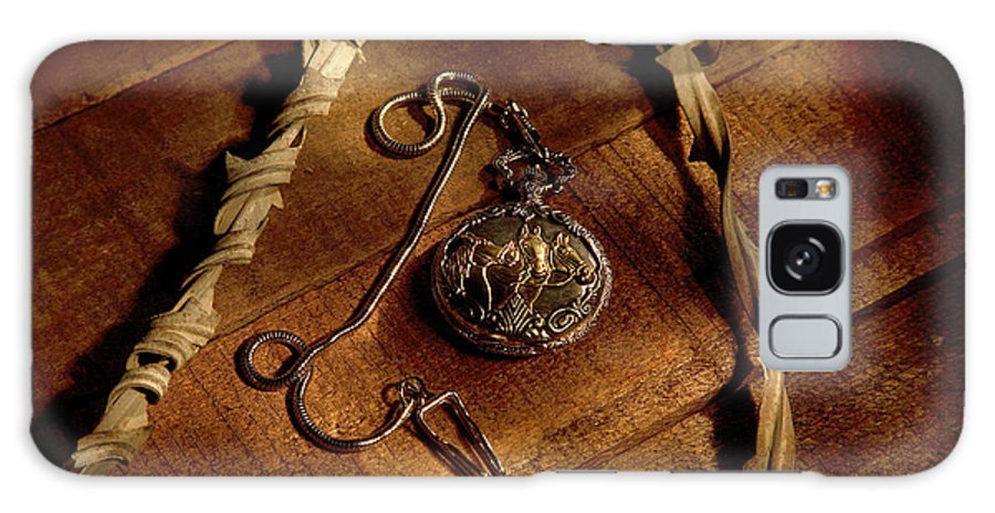 Pocket Watch Galaxy S8 Case featuring the photograph Horse In My Pocket by Daniel Alcocer
